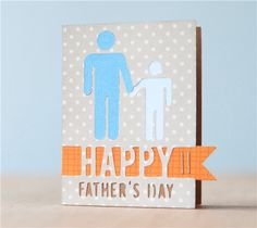 Happy Father's Day Card. Make It Now in Cricut Design Space