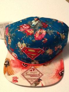Superman SWAG Hat Cap Exclusive Snapback COMICS COSTUME COSPLAY DC Comics Hat  #DCComics #BaseballCap