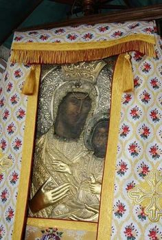 Icon of Panagia Vimatarissa from Vatopedi Monastery Early Christian, Christian Art, Madonna, Holy Mary, Holy Cross, Blessed Virgin Mary, Orthodox Icons, My Favorite Image, Mother Mary