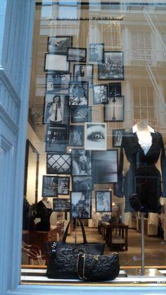 decoración tienda de damas