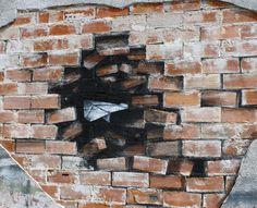 Уличное искусство испанца Pejac