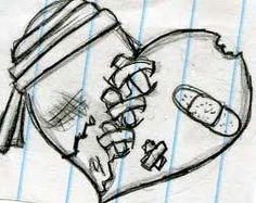 images to draw easy / images to draw ; images to draw pencil ; images to draw easy ; images to draw inspiration ; images to draw ideas ; images to draw pencil sketches ; images to draw pictures Easy Doodles Drawings, Sad Drawings, Pencil Art Drawings, Broken Drawings, Cute Heart Drawings, Pretty Drawings, Simple Doodles, Drawings Of Sadness, Heart Break Drawings