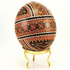 Polish Art Center - Hand Decorated Ukrainian Design Goose Egg