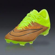 pretty nice f9a3f 95071 Nueva llegada Zapatos de Futbol Nike Mercurial Vapor X FG Para Terreno  Firme Lienzo Negro Voltio Tech Craft Ii
