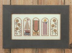 Summer Arches counted cross stitch sampler by Bent Creek can be stitched on the fabric of your choice. Chart was in my retail shop and has been reduced for clearance. Model: Fabric - 32 ct. Vintage Antique Ivory Linen Fibers - Weeks Dye Works (DMC alternate listed) Stitch Count - 154w x 68h Approx. Design size (32 ct over 2): 9.6 x 4.2  Retail - 5.50/Sale - $3.25 Smoke-free and pet-free environment!  Postage is calculated and combined for multiple items. However, it does depend upon the…