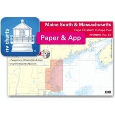 NV-Charts Reg. 2.1 - Massachusetts: Cape Elizabeth to Cape Cod - £69