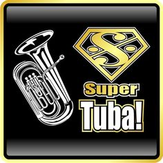 tuba t shirts | Tuba Super Tuba - MusicaliTee T Shirts, Sheet Music Bags, Hoodies and ...