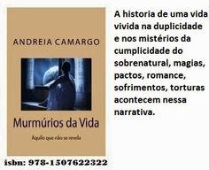 Águas da Vida: O livro Murmurios da vida de Andreia Camargo