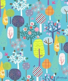 Tree Print by Jill McDonald Design