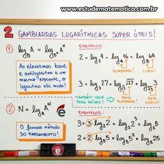 Mapa mental de logaritmos