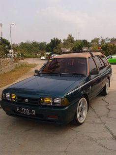 Mazda Familia Modifikasi : mazda, familia, modifikasi, Mazda, Vantrend, Ideas, Mazda,, Wagoner,, Wagon