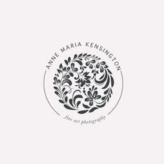 Anne Maria Kensington Logo Design by Harper Maven Design