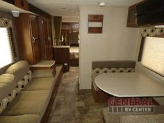 Find Freedom In The Great Outdoors While Traveling In The Rear Kitchen Layout Offered In The Used 2015 Coachmen RV Freedom Express 246RKS Travel Trailer at General RV | Draper, UT | #141834