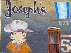 Joseph's billboard on Congress Ave.