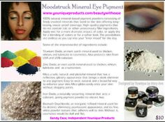 Younique Ingredients for Moodstruck Mineral Pigment Powder.  So many colors you'll want them all~ https://www.youniqueproducts.com/beautywithease/products/view/US-1011-00#.UuLj8PtMEdU