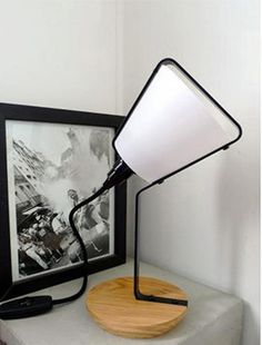 Lampe Cone - Table Lamp - French Design - Lampe a poser