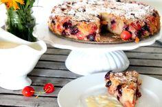 PamyLotta: Weltbeste Süßspeise ever! - Badischer Kirschplotzer mit Vanillesoße #ichbacksmir #Familienrezepte