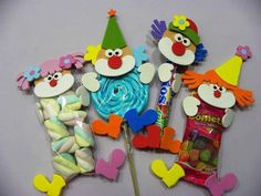 25 Children's day gifts ideas - Aluno On Circus Birthday, 9th Birthday, Birthday Parties, Clown Party, Kids Crafts, Diy And Crafts, Carnival Themes, Party Themes, Circus Crafts