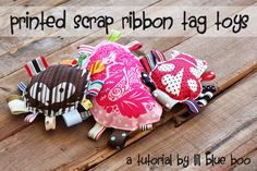 Make baby taggy toys