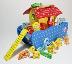 Arca de Noé de madera