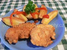 Prsíčka ve vinném těstíčku Meat, Chicken, Food, Essen, Meals, Yemek, Eten, Cubs