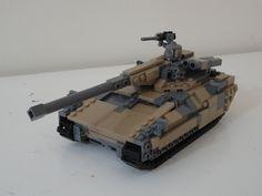 Notice the anti tank missiles on the side of the turret. Arte Elemental, Boba Fett Helmet, Lego Army, Lego Craft, Lego Blocks, Lego Worlds, Cool Lego Creations, Lego Design, Lego Projects
