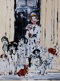Mary Ronayne, Mrs. GIllian GIlbraith Darcy and her Family, 2021 | HOFA Gallery (House of Fine Art) Art Sites, The Hamptons, It Works, Wedding Day, Mary, Fine Art, Gallery, Illustration, Artist