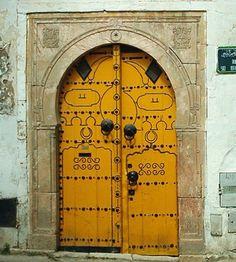 Puerta antigua, Tunez.