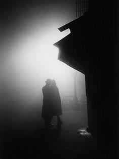 Fred Stein - Streetcorner, Paris #photography #blackandwhite