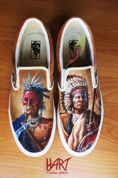 0f566b55f7 buy these. support the artist. win-win. Custom Painted Shoes