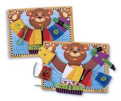 Melissa & Doug - 13784 - Loisir Créatif - Planche d'aptitudes de base: Amazon.fr: Jeux et Jouets