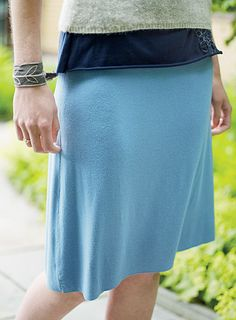 Patternless A-Line Skirt! love this lots of other fun stuff on this page