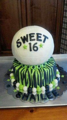 Volleyball cake  :)
