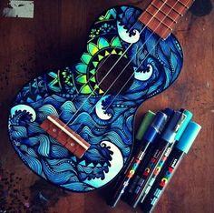 #instrumento #música #pintura                                                                                                                                                     Mais