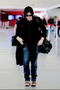 Norman Reedus at LAX