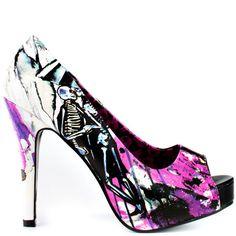 Love Shock by Iron Fist...so many shoes so little time!