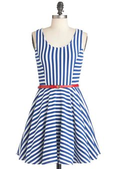 I Tank You're Swell Dress - I adore the stripes, it seems to be the perfect length.