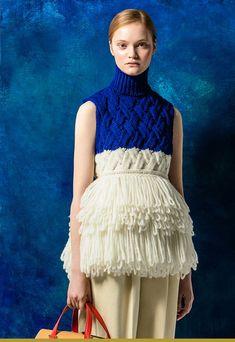 Maison de couture DELPOZO collection MAILLES 2016