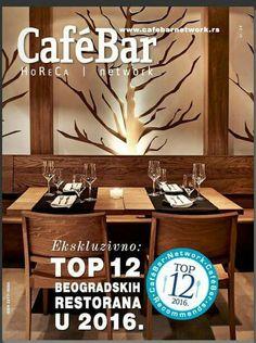 Pripala nam je naslovnica novog broja CafeBar magazina   Mitropolita Petra 8 +38163594924  #Enso #EnsoRestaurant #EnsoBelgrade #FineDining #finedininglovers #food #foodporn