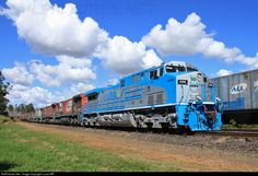 RailPictures.Net Photo: 8288 Rumo/ALL AC44i at Bueno de Andrada, Brazil by Lucas MR