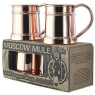 4 Pack of 15oz Solid Copper Steins