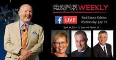 Tomorrow at 3PM eastern time Ill be sharing a Facebook Live with Relationship Marketing Expiert Kody Bateman! This week Kody highlights three amazing case studies in the real estate industry.   Youll hear how Gayle increased her referral business from 30% to 99% and tripled her sales in 4 years how Jay surpassed 1 billion in sales with over 400 agents and 3900 transactions last year and how Jim took his averaging listing price from $200k to over $1 million.   They all achieved these amazing…