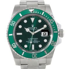 Rolex Submariner Green Dial Ceramic Bezel Steel Watch. Get the lowest price on Rolex Submariner Green Dial Ceramic Bezel Steel Watch and other fabulous designer clothing and accessories! Shop Tradesy now