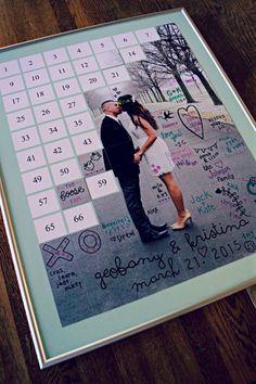 Alternative Hochzeit Gästebuch Gästebuch Puzzle von CForiginal