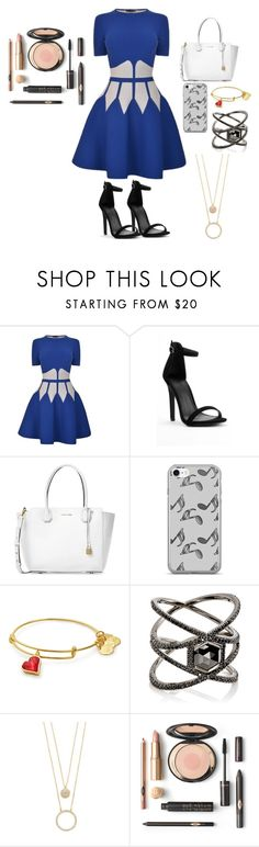 """Can you save my Heavydirtysoul?"" by cecily-gravesen ❤ liked on Polyvore featuring Alexander McQueen, Michael Kors, Music Notes, Eva Fehren and Kate Spade"
