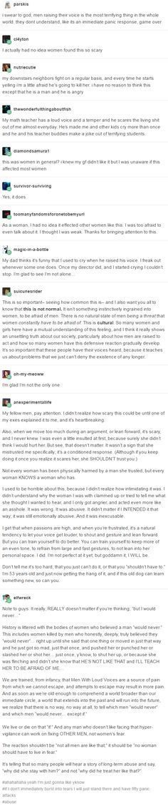 """The reaction shouldn't be """"not all men like that;"""" it should be """"no woman should have to live in fear."""""""