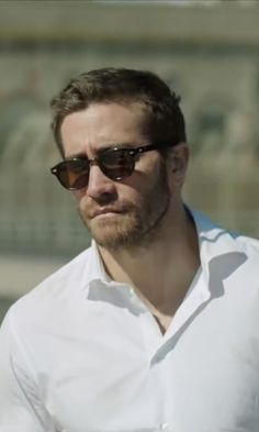 Moscot Lemtosh Tortoise Sunglasses as seen on Davis Mitchell in Demolition | TheTake.com