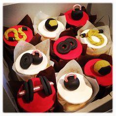 Crossfit cupcakes Gym Cupcakes