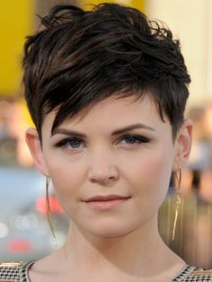 Ginnifer Goodwin Short Pixie Hairstyle - Pixie Haircuts for Short Hair Inspiration - Good Housekeeping
