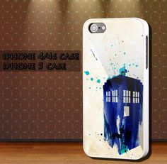 Doctor Who TARDIS For Apple Phone, IPhone 4/4S